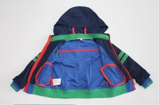 Скидки на Французский стиль мальчики хлопок закрытый воротник верхняя одежда, Дизайнер верхний - мальчики марка осень и зима куртки
