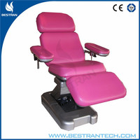 BT-DN001 Luxury electrical blood collection chair blood donor beds medical blood couch