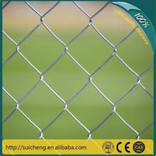 Guangzhou Manufacturer 1.5 Inch Chain Link fences backyard metal fence (Factory)