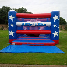 Commercial Inflatable King Of The Ring bouncing castle,bouncy castle,jumping castle