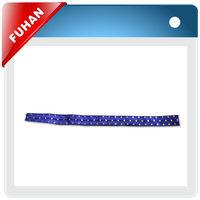silk screen transfer printing on the ribbon