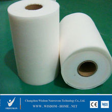 thermal bond printed nonwoven fabric