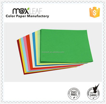 80gsm A4 colored printing offset paper with 10colors mixed