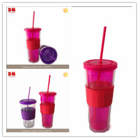 China 16OZ ps party silicone rubber cup sleeve