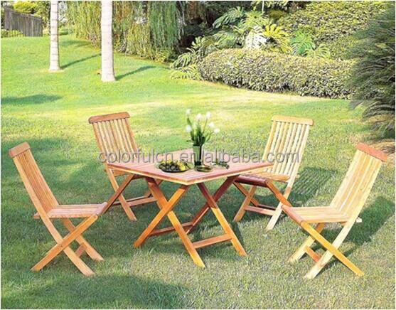 Fauteuil inclinable de bois, Salon de jardin à vendre ( DH-2014 ...