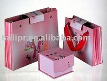 Pink Summer Shopping Bags
