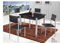 Holesale top quality dining table and 4chair dining table /low price table and chairs