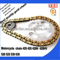 Motorcycle chain,motorcycle chain and sprocket,Top quality and cheap sell ax100 parts