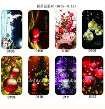 Christmas Models!! Luxury combo case for iphone 4&4s with fashion christmas design!!