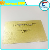 rfid chip card door lock with silver/gold surface finish for access control