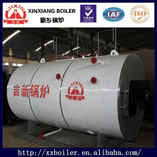wns series first class gas fired commercial boilers or steam generators for industiral usage