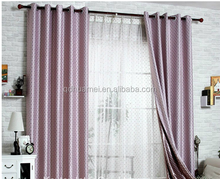 popular good quality cheap printed wondow curtain