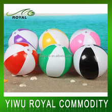 Promotional Colorful Water Float PVC Inflatable Beach Ball