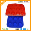 China Manufacturer LFGB FDA Standard Silicone Mini Cheesecake Pan/Molds