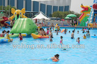 HI EN14960 0.85mmPVC inflatable water sports products