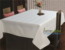 100% Polyester Plaid Table Cloth