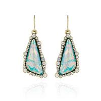 Free Sample New design Women Wholesale Jewel Fashion Dangle Earring