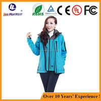 Winter Far infrared heated Clothing Outdoor OEM/ODM 4000mAh battery heating resistant ski jacket
