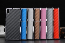For Z3 Carbon Fiber Leather Skin Back Cover Hard Protect Case