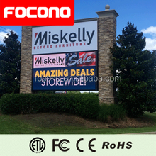 FOCONO 8 Years Warranty Digital LED Billboard Electronic Led Video Display P10 Outdoor LED Screen