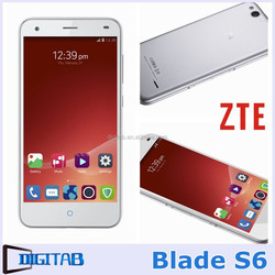 Android 5.0 Phone Original ZTE Blade S6 1280*720 Qualcomm Octa-Core 1.5GHz Dual SIM 4G LTE Phone 5 inch HD IPS Mobile Phone