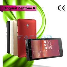 6 inch China Dual sim cdma mobile phone Android 4.3 dual camera 2.0mo+13mp GPS Zenfone 6
