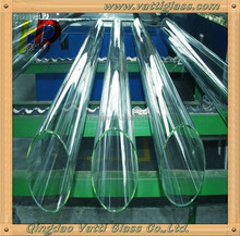 Clear Precision Glass Tube Made in Vatti Glass That Has Been Polished To A High Precision Quartz Glass Tube
