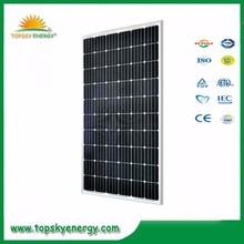 250W 60pcs 30.1V-30.6V 7.81A-8.17A cheap mono grade A best prices per watt of solar panel made in China 245w 240w 235w