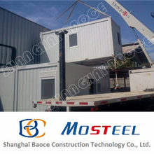 produce cost effective nice prebuilt homes container for workers in Australia
