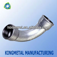 Bends Female 45 Degree Pipe Malleable Iron