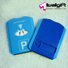 2014 Most Popular Logo Printed Car Parking Timer With Ice Scraper