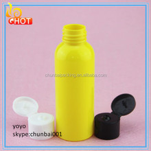 Empty Travel refillable plastic bottle for cosmetic oil packing