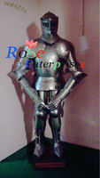 Full Suit Of Armor Decorative Royal Design Medieval Knight Full Body Armor, Wearable Body Armor