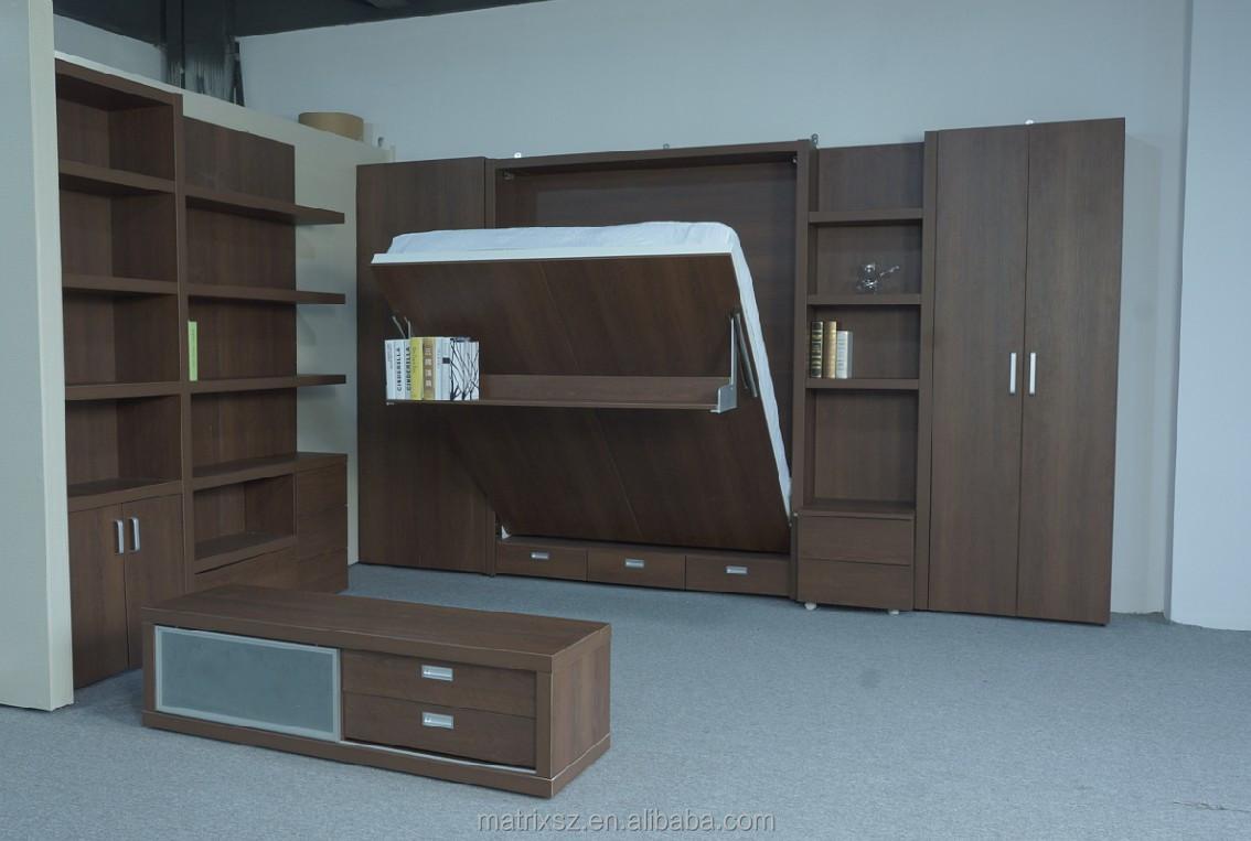 kleine ruimte opklapbed meubels voor huis project-bedden-product ...