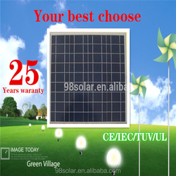 50W Poly Solar Panel in China with full Certificate