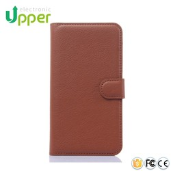 Wholesale stand genuine leather cover flip case for huawei honor 4x