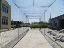 #32 #36 PE baseball batting cage net,golf and multi-sport cages