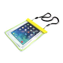 2015 hot sale luminous waterproof dry bag pouch for ipad mini