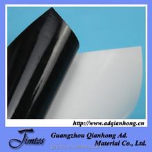 wholesale 120gsm 80micron pvc glossy custom black uv vinyl for printing