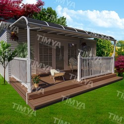 2015 polycarbonate large outdoor metal canopy