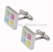 2012 fashion crystal cufflinks
