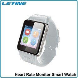 Hot gps tracking smart watch with heart rate monitor,skin temperture for hospital Medical Device