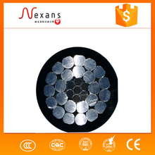Al/Cu conductor multi core underground power cable/electrical cable