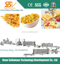 2015 factory supply lower price corn flakes production process