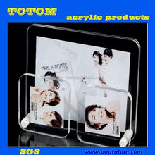 POP Acrylic pen holder and fashionable acrylic photo frame in 2012