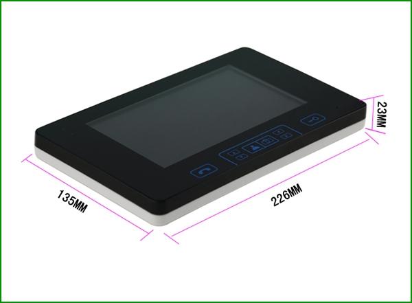 interphone visiophone portier vid o sans fils ecran. Black Bedroom Furniture Sets. Home Design Ideas