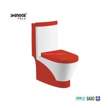 PP/UF soft closing ceramic vitreous china sanitaryware