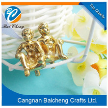 2015 hot sale man shaped metal craft with good quality and cheap price sold by factory directly with your own design