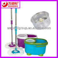 2015 Newest magic cleaning mop with telescopic handle and spin bucket, high quality