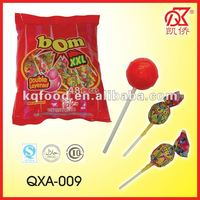 28g Fruity Twist Bubble Gum Big Bom lollipop